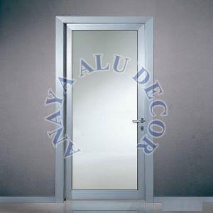 Aluminum Single Glass Door