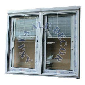 Office Upvc Glass Window