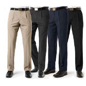 Men Cotton Formal Trousers