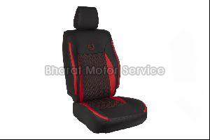 U-hexa Red  Black Car Seat Covers
