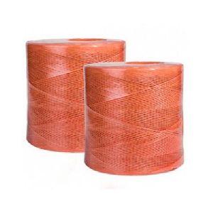 Orange Plastic Baler Twine