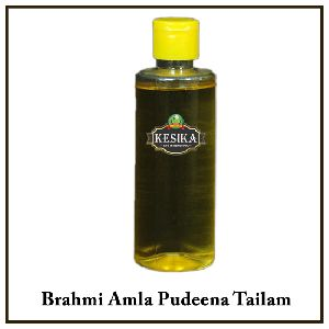 Brahmi Amla Pudeena Hair Oil