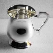 Silver Plated Copper Mug