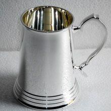 Silver Plated Mug