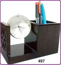 Pen Stand Clock