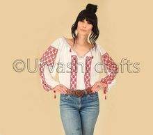 Designer Handmade Embroidered Blouse