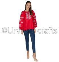 Embroidery Ladies Top