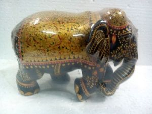 Wood Carved Elephant