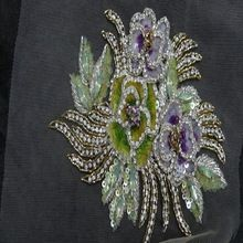 rose crystal patches