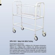 Baby Crib With Trolley