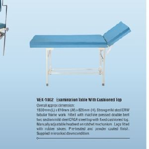 Examination Table With Cushioned Top