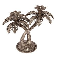 Silver Plated Handicrafts Candle Stand Tree