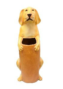 Attractive Dog Shape Dustbin