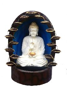 Beautiful White Buddha Water Fountain