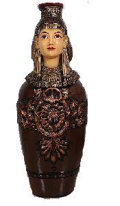 Dark Brown Queen Of Egypt Showpiece