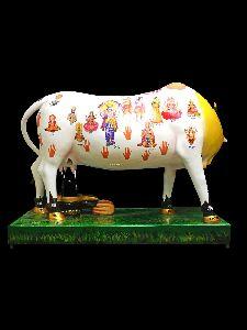 Kamdhenu Cow With Shivling