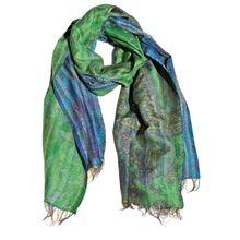 Kantha Silk Throws
