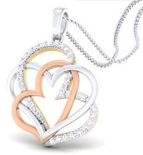 Round Diamond Pendant Design Gold Jewelry
