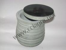 Natural Grey Soapstone Storage Canister Jars