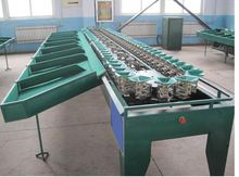 Feeding Onion Grading Machine