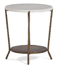 Stainless Steel Table Frame With Marble Top