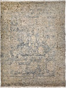 Indian Hand Knotted Woolen Carpet