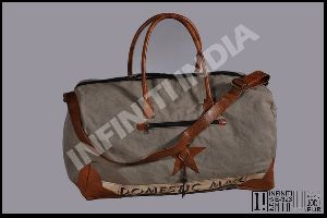 Vintage Washed Canvas Duffel Bag