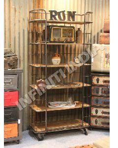 Wiremesh Bookshelf