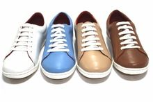 Ladies Leather Sneaker Shoes