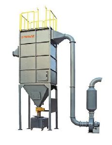 Reverse Pulse Jet Baghouse Dust Collector