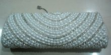 Pearl Studded Ladies Clutch Purse