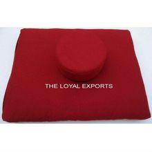 Buddist Red Meditation Zabuton Cushion