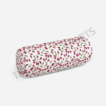 Yoga Flower Printed Bolster Pillow