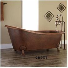 Bath Tubs Copper Double Slippers