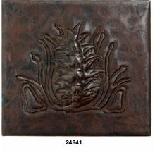 Copper Kitchen Wall Tile