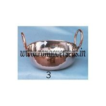Copper Steel Serving Dishes