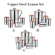 Stainless Steel Copper Jugs