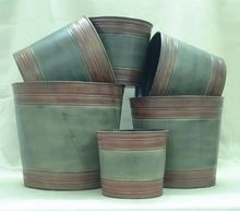 Iron Garden Planter Pots