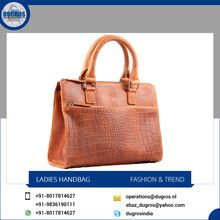 Removable Strap Zipper Ladies Bags