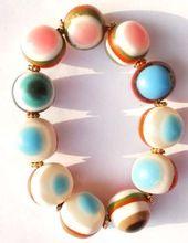 Resin Beads Bracelet