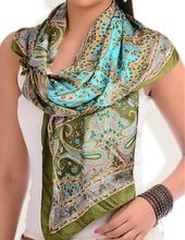 Women Silk Scarve