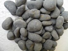 Black Stone Natural River Pebble