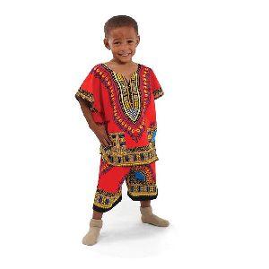 African Kids Shirt Dress
