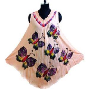 Tye Dye Batik Umbrella Dress
