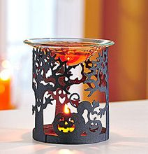 Laser Cut Tree Shaped T Light Candle Holder