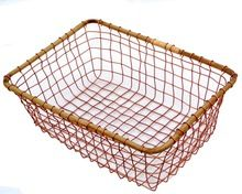 Opper Wire Vegetable Baskets