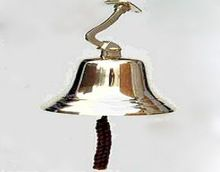 Polished Brass Marine Ship Bell