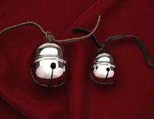 Silver Polar Brass Sleigh Bell