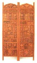 Wooden Carving Arabian Style Folding Panel