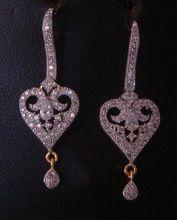 Cubic Zirconia Bridal Earring Jewellery